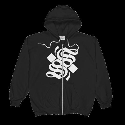 S Logo Full Zip Hoodie