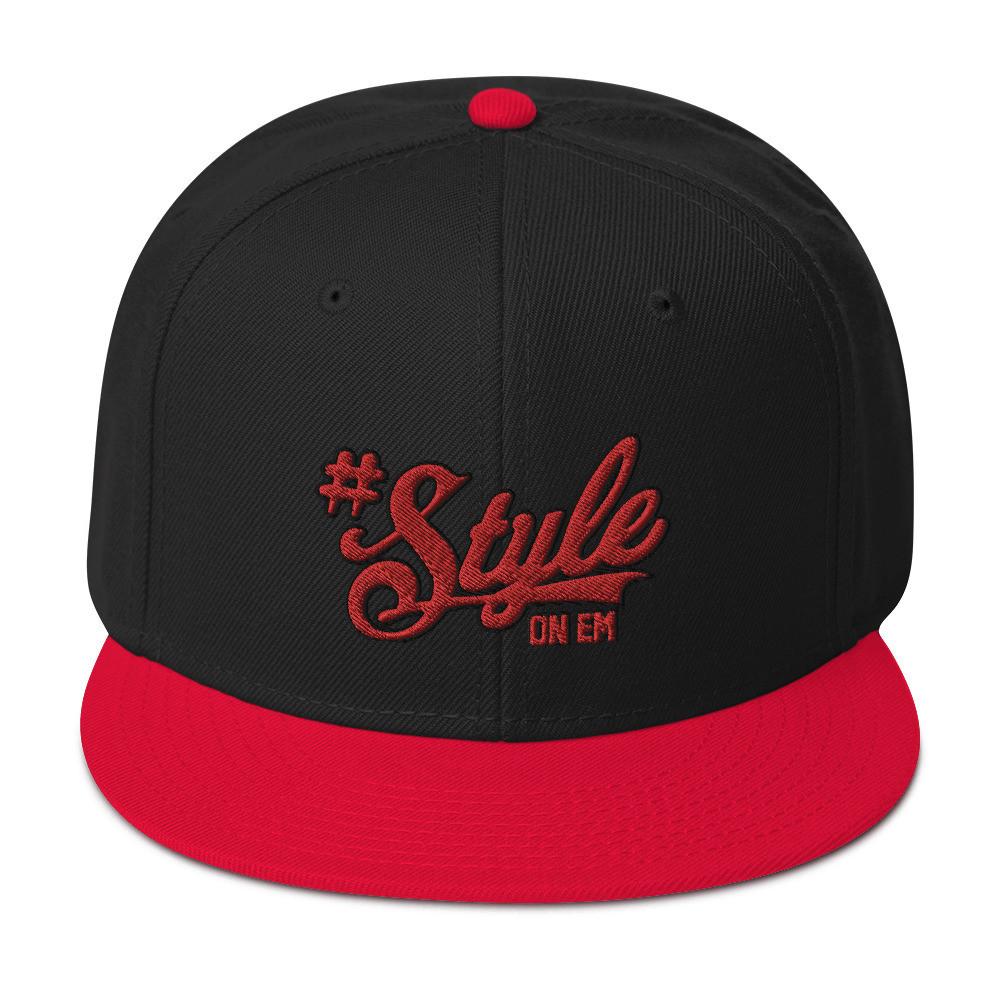 #StyleOnEm Snapback - Red
